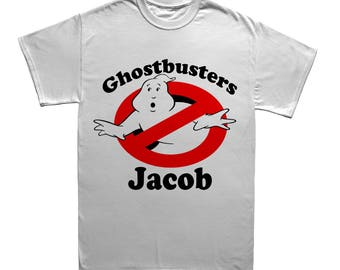 Ghostbusters Custom T-shirt - Add Name