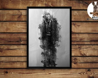 Logan print wall art home decor poster
