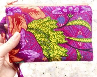 Batik Wristlet Handmade in Singapore