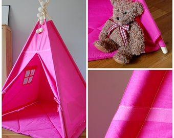 Teepee  #Tipi Pink style #Play tent