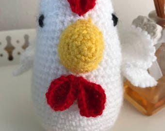 Amigurumi  Easter chicken