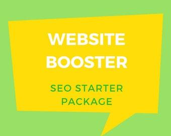 SEO Starter Package, Website SEO, Digital Marketing, Google Ranking, SEO Booster.