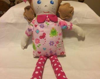 Homemade cloth doll
