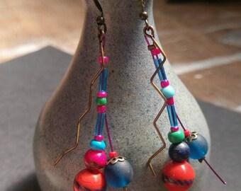 Colourful Rockstar Earrings