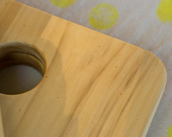 The Board - hand made timber serving & cutting board