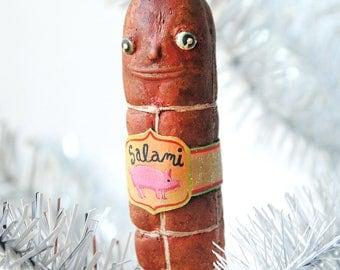 Salami Ornament