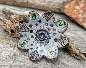 Handmade Stoneware Pendant