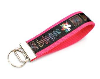 LuLaRoe Keychain Unicorn Key Fob Keychain Wristlet