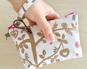 Enchanted Forest Wristlet Pouch LAST ONE
