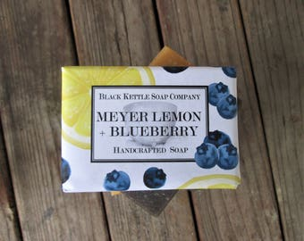 MEYER LEMON + BLUEBERRY Soap