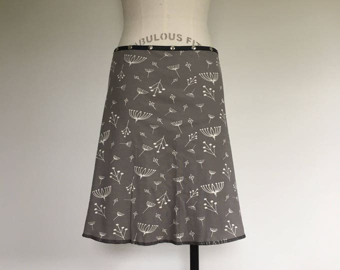 Organic Queens Anne's Lace Snap Around Skirt by Erin MacLeod