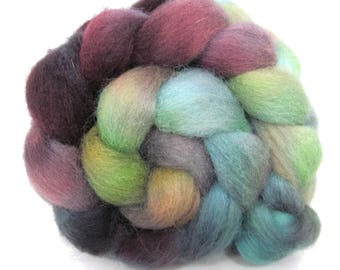 Dorset Horn Hand Dyed Combed Wool Top 100g DH63