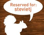Reserved for stevietj: Cute Little Bird Woodburned Wall Art Panel - vibrant orange