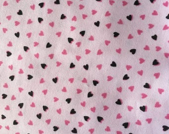 Receiving Swaddling Blanket Girl Pink Tiny Hearts XL Extra Large