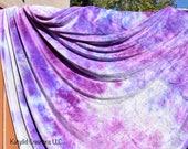 Reserved listing for Rose Hand Dyed Organic Bamboo Velour Blanket - Stadium Blanket - Throw - Baby
