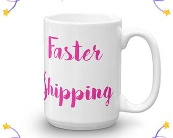 FASTER SHIPPING for 15 oz mugs | Pug Mug, Pug Lover Gift, Best Friend Gift Mug, Dog Lover Gifts For Men, For Women, Coffee Mug Cute Gift