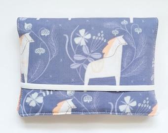 Crayon Wallet //Marlin Dale Horse by Dear Stella