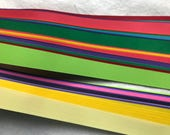 Special~ Weaving Paper Strips~ Rainbow (130 strips)