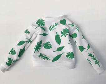 sweater leaves