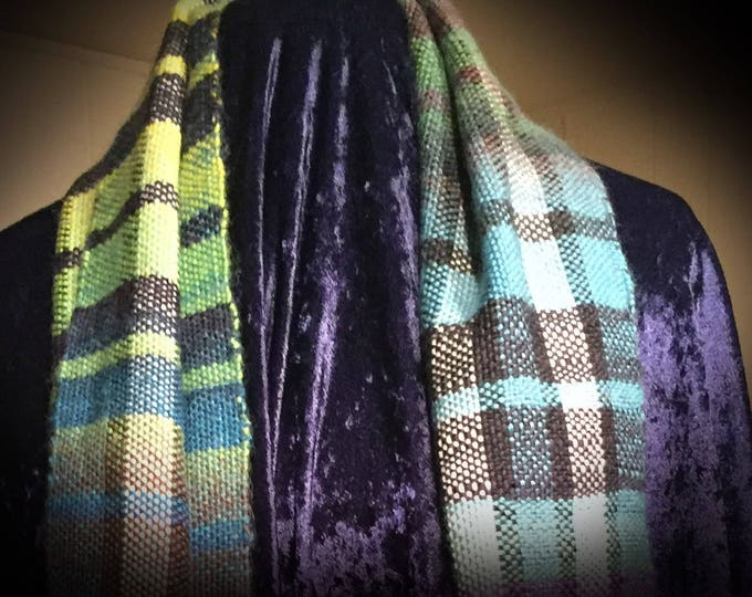 Handwoven Scarf, Handmade Scarf, Mens Scarf, Women's Scarf, Scarves, Present for him, Scarf for her, Gift, Autumn Scarf, Present For Her