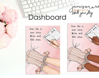 Write Your Story Choice of  Dashboard