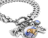 Personalized Pet Memorial Jewelry with Engraved Pets Name and Option of Cremation Urn for Ashes