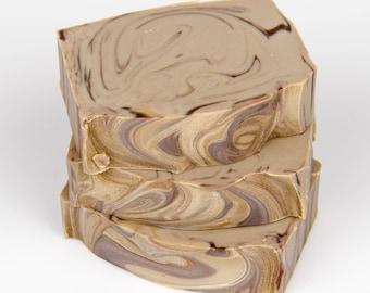Au Lait Soap - Handmade Soap - Cold Process Soap - Milk Soap - Natural Soap - Shea Butter Soap