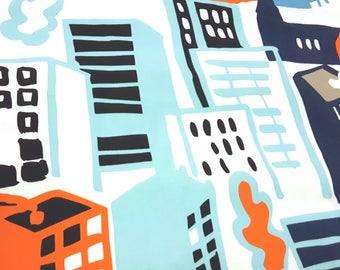 Cityscape - IKEA Gitte Cotton Fabric
