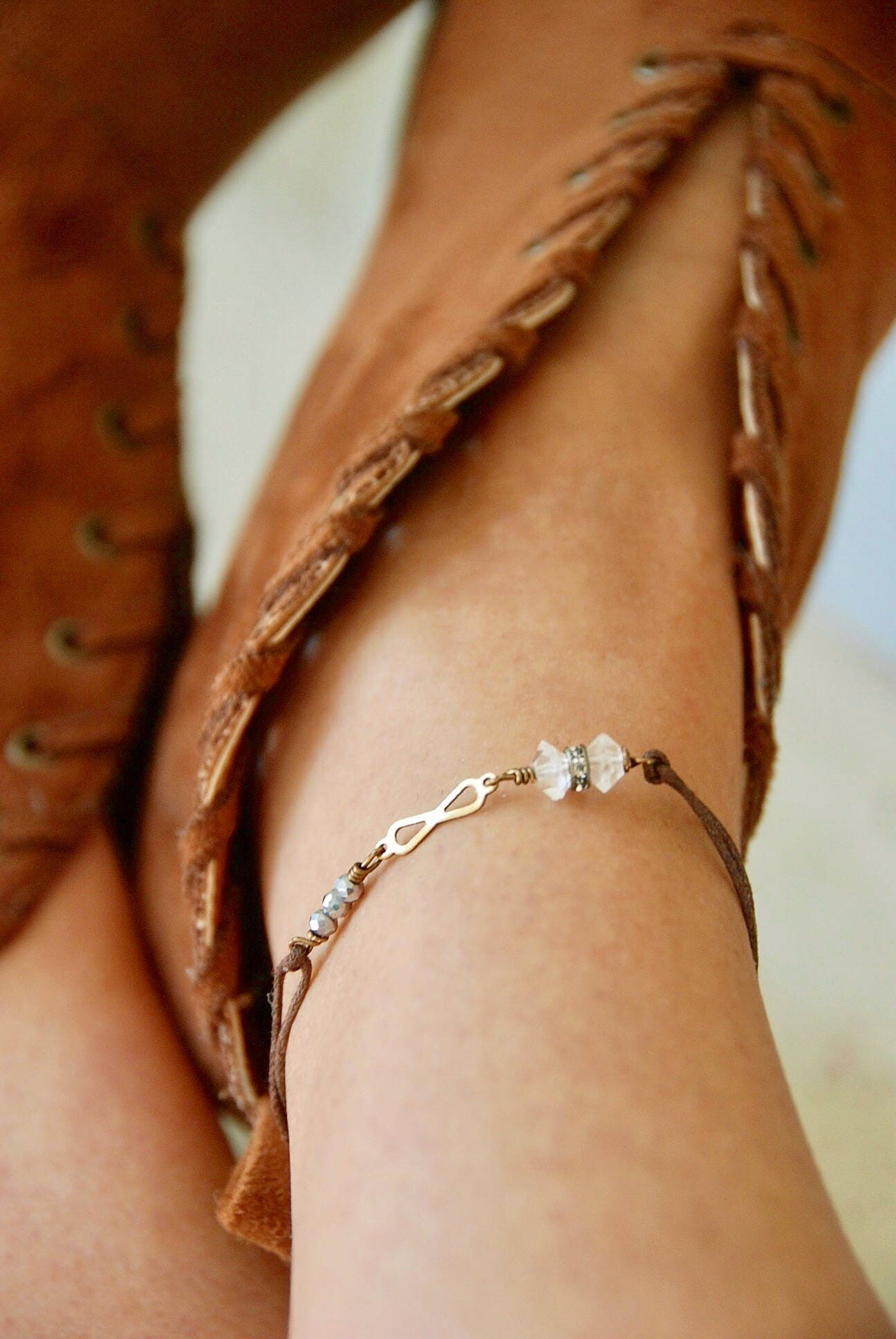bracelets with watch bracelet to string youtube knot anklet make how square adjustable beads
