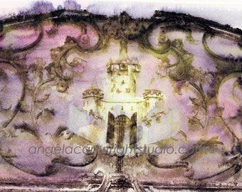 Dream Castle - print