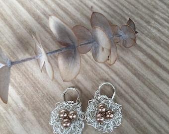 BIrds' Nest Earrings
