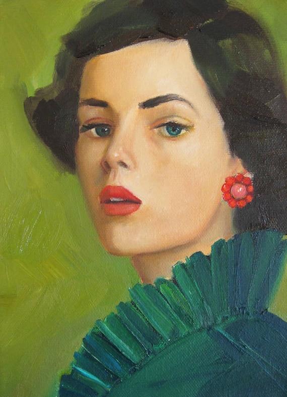 Watchful Ivy. Art Print