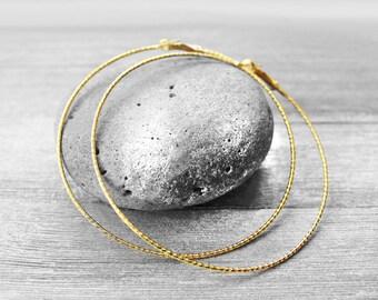 Big Gold Hoops, Big Hoops, Large Hoop Earrings, Electroplated, Hoop Earrings, Nara African Woman Big Hoop Earrings