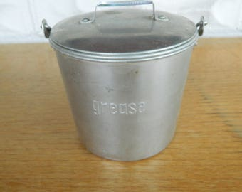 Vintage Grease Bucket/Pail