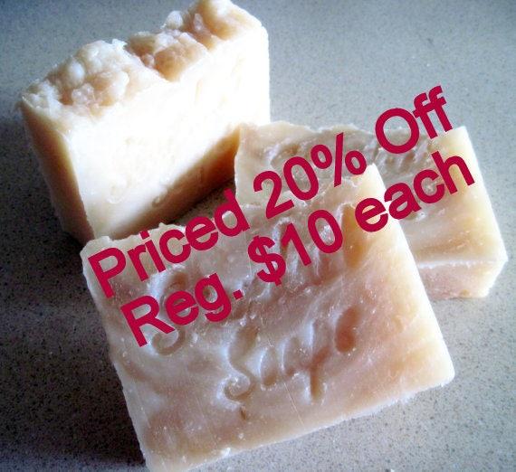 SALE Shampoo Bar - Tea Tree Oil (For all hair types) (lots of lather, fresh and clean, natural antibacterial)