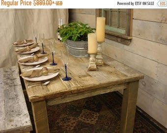 "ON SALE Driftwood Table (72""L x 34""W x 30""H)"