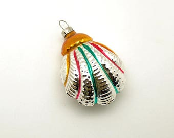 Vintage Christmas Ornament Fancy Glass Christmas Decoration