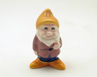 Vintage Christmas Ornament 7 Dwarfs Happy Disney