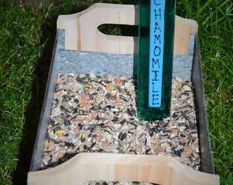GARDEN SALE Chamomile Herb Garden Stake, Gardener, Gift Plant Stake, Garden Stake