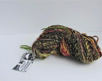 Medusa, bulky yarn, yarn, multicolor, Bloodroot, wool, mohair, 306 yds,