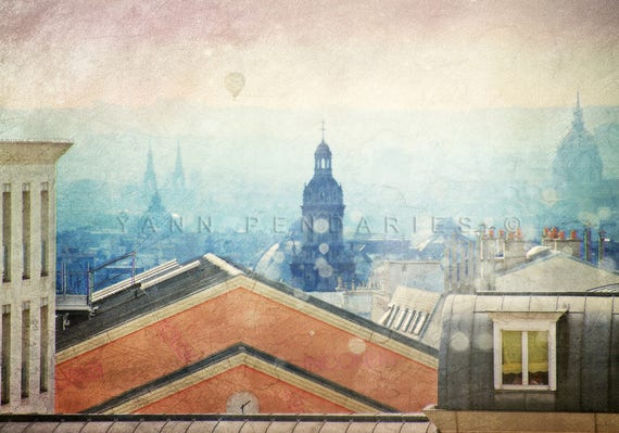 Paris wall art, Paris bedroom decor,  Paris print,  Paris decor, Paris photography, Paris wall art, wall art prints, Paris rooftops photo