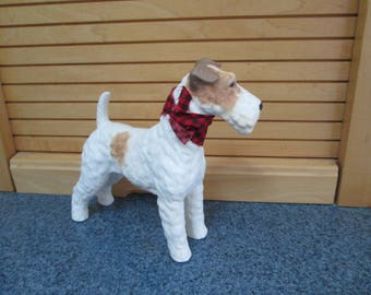 Airedale or Fox Terrier