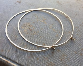 14k Gold Fill Hoops Gold Hoops Large Hoops Small Hoops DanielleRoseBean Big Hoop Earrings Gold Hoop Earrings