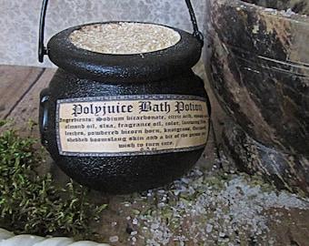 Harry Potter inspired Polyjuice Potion bath bomb