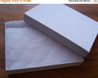 Summer Sale 10 Pack Cotton Filled white Color Jewelry Gift and Retail Boxes 5 X 3 X 1 Inch Size