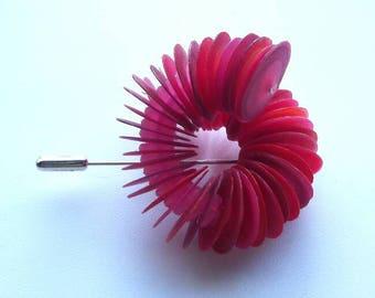 Red Twist Pin