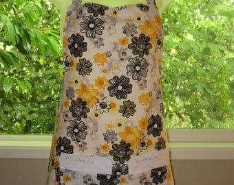 Womens Aprons - Aprons for Women - Watercolor Flowers