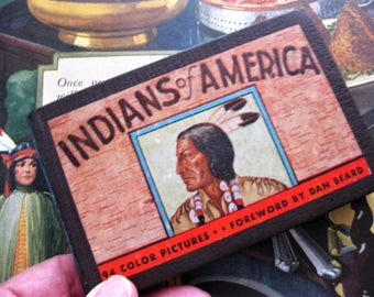 Vintage 1935 Indians of America, Whitman Publishing, No. 734, Pocket Guide