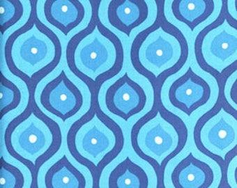 Valori Wells Curves Blue Freespirit Fabric