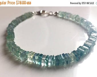20% off FLASH SALE, Fluorite Heishi Bracelet